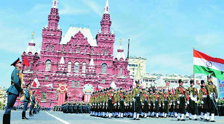 Russia, Victory Day, Pranab Mukherjee, Pranab Mukherjee in victory day, victory day russia, victory day parade, World War 2, victory day pictures, russia news, russia victory day, world news, news, india news, indian president, indian army