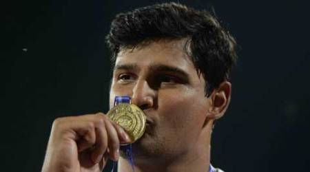 Vikas Gowda wins bronze in Shanghai IAAF Diamond League