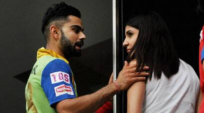 Anushka cheers for 'boyfriend' Kohli's RCB