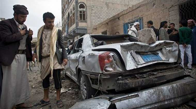 Yemen, houthis, saudi attack sanaa, saudi attack yemen, Shiite rebels, airstrikes in yemen, airstrike death toll, middle east turmoil, international news, news