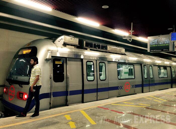 Delhi Metro's ITO station all set for inauguration | Picture