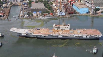 INS Vikrant, CSL, Cochin Shipyard, Indian Navy, INS Vikrant Length, INS Vikrant undocked, INS Vikrant First Look