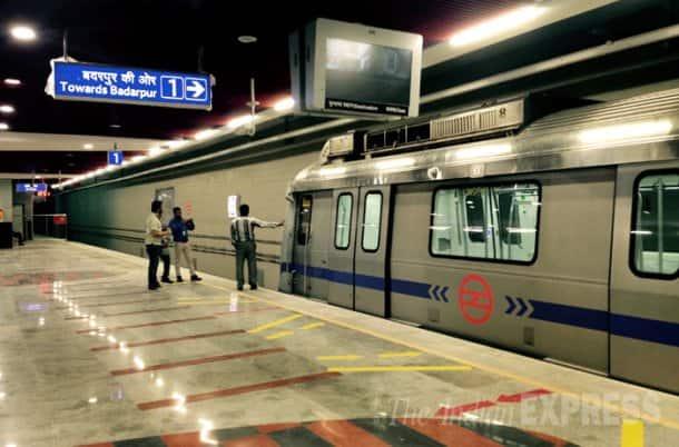 Delhi Metro, Delhi Metro rail Services, Delhi Metro inspection, Delhi Metro Single Line, ito Metro Station, ito metro inspection, ito Station Heritage Corridor, Central Secretariat to Kashmere Gate, Mandi House and ITO stations, Delhi Metro single line sections, ito Single Line
