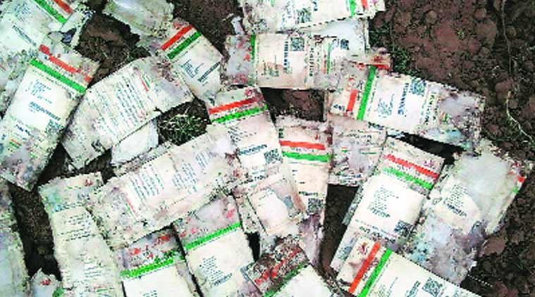 Aadhaar cards, Aadhaar card dumped, postman, ahmedabad news, city news, local news, gujarat news, Indian Express