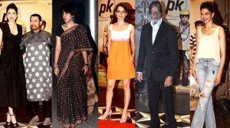 Aamir Khan's PK success bash: Daughter Ira is the star, Big B, Deepika, Kangana are guests