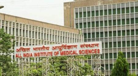 J&K AIIMS, AIIMS in J&K, shiv sena, dogra front, bjp, Health Ministry, All India Institute of Medical Sciences, Jammu AIIMS, Kashmir AIIMS, AIIMS row, J&K AIIMS row, J&K government, J&K govt hospital, J&K AIIMS hospital, J&K news, bjp news, india news, indian express