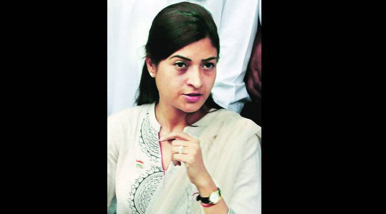 BJP says that Alka Lamba has paid the price for speaking the truth. (Source: File photo)