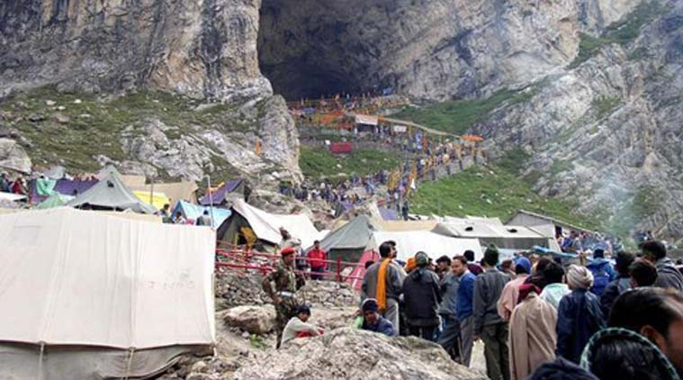 amarnath, amarnath yatra, amarnath temple, amarnath temple yatra, amarnath temple visit, amarnath temple food, amarnath yatra food, amarnath yatra food ban, amarnath news, india news