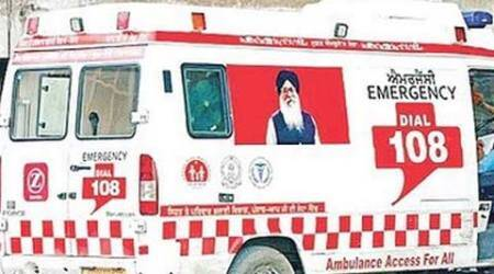 Centre asks Punjab government to remove Parkash Singh Badal's ambulance pictures