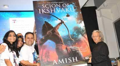 Amish Tripathi's latest book Scion Of Ikshvaku launched