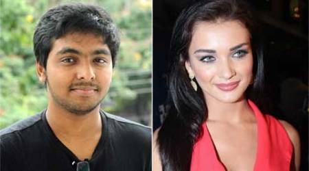G.V. Prakash Kumar, Amy Jackson team up for a film?