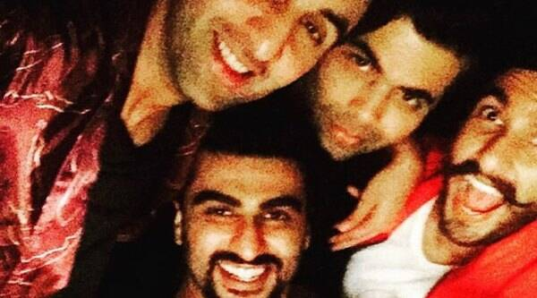 Arjun Kapoor, Ranveer Singh, Karan Johar, Aditya Roy Kapoor, Actor Arjun Kapoor, Arjun Kapoor Birthday, Arjun Kapoor Birthday Party, Arjun Kapoor Birthday celebration, Arjun Kapoor Ranveer Singh, Arjun Kapoor Ranbir, Arjun Kapoor Karan Johar, Arjun Kapoor Aditya Roy, Entertainment news