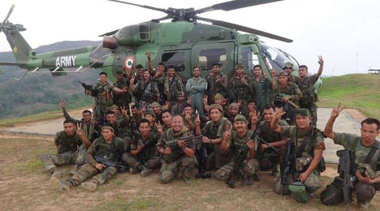 Indian army, myanmar, manipur, Army myanmar, Army myanmar news