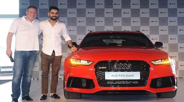 Virak Kohli Launches Audi RS Avant At Rs Crore The Indian - Audi india