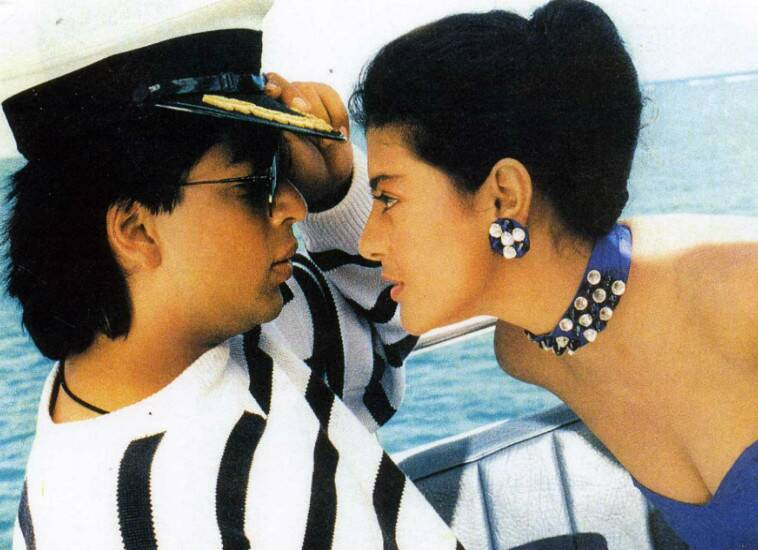 Shah Rukh Khan completes 23 years in Bollywood | The ... Baazigar Shahrukh Khan