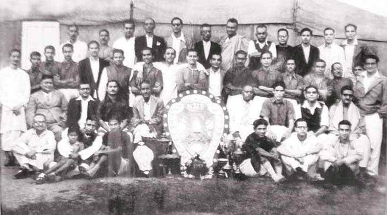 we are the champions: The Mohun Bagan team with the eighth Hero I-League tournament trophy. It is their first national league title  after 2002