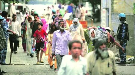 Ballabhgarh Muslim families return: 'Unbelievable, everything has been destroyed'