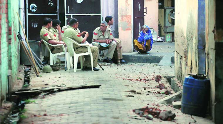 Ballabhgarh Communal Violence, communal violence, muslim community, muslim violence, violence, delhi police, delhi news, city news, local news, Indian Express