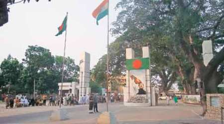 At Petrapole-Benapole border post, it's Bangladesh that showcases itself while India waits