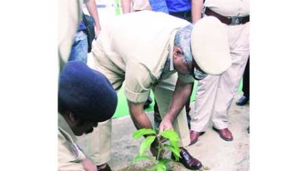 world environment day, delhi envrionment day, delhi police, green delhi, delhi news, city news, local news, Indian Express