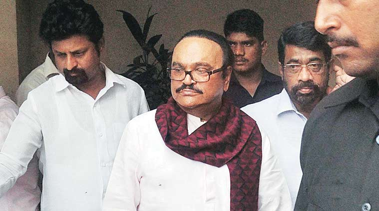 searches were conducted at the office of the Mumbai Educational Trust (MET) owned by Bhujbal.
