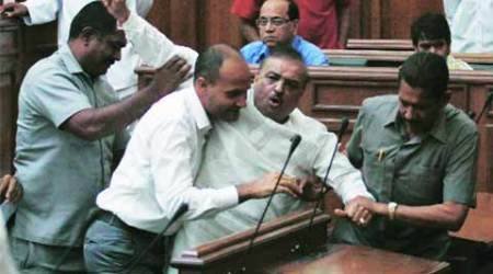 Day 1 of Budget session: BJP MLA is thrownout