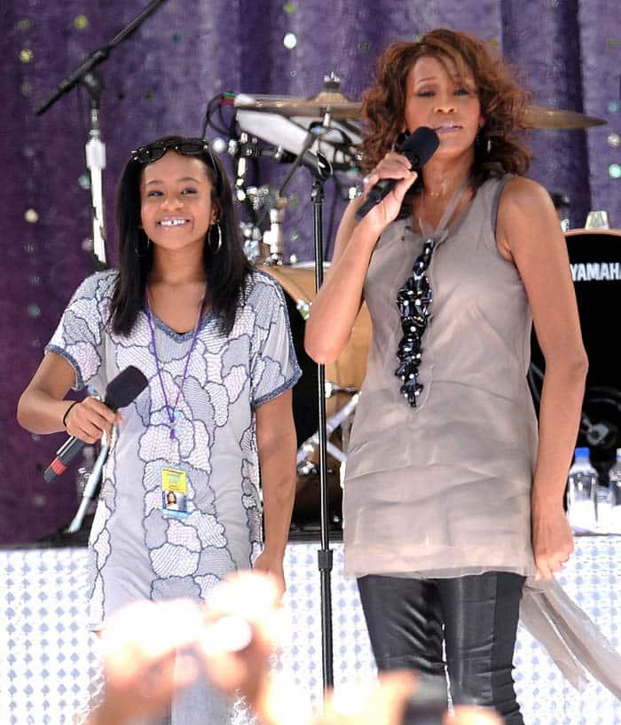 Bobbi Kristina Brown, Whitney Houston, Bobbi Kristina Brown death, Celebrities who died young, Whitney Houston Bobbi Kristina Brown