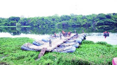 Bopkhel rift, Bopkhel bridge, CME, maharashtra govt, PWD, PCMC, pune news, city news, local news, maharashtra news, Indian Express