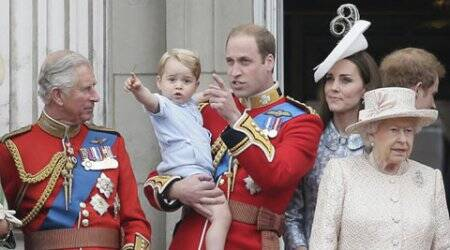 Prince George joins birthday celebrations of Queen Elizabeth II