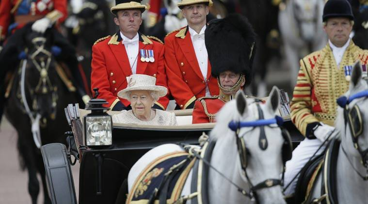 Prince George, Queen Elizabeth II, Royal Family, Queen Birthday,  UK Queen Birthday, britain queen birthday, Trooping the colour ceremony, Balcony debut, Birthday ceremony, George first appearance, Buckingham Palace, London news, UK news, Europe news, World news