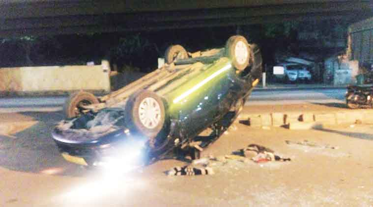 road accident, accident, highway accident, Himachal Roadways bus, Chandigarh news, punjab news, haryana news, india news, nation news, news