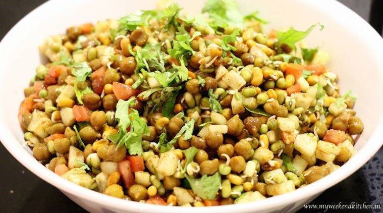 Fed up of your boring diet food try this healthy delicious chana chana chaat recipe source ashima goyal siraj forumfinder Gallery
