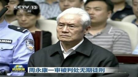 Former China security chief Zhou Yongkang sentenced to life for corruption