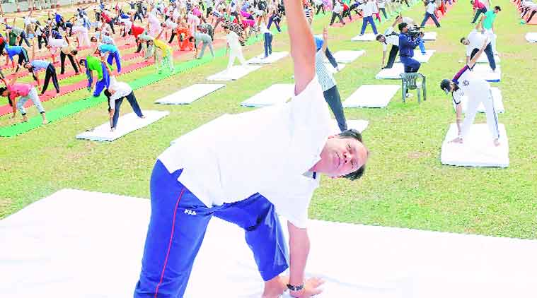 international yoga day, yoga day, Narendar Modi,  PM Modi, modi initiative, chandigarh news, city news, local news, chandigarh newsline, Indian Express