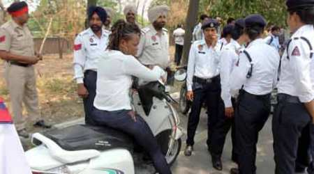 Congolese woman gives jitters to Ludhiana traffic police for hours