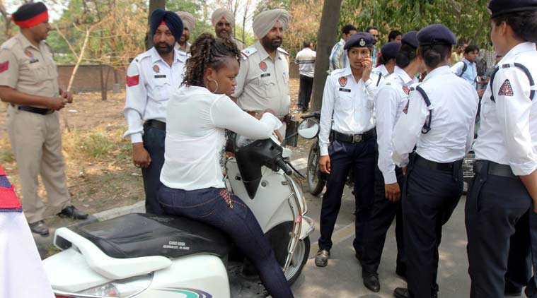 Congolese woman, Ludhiana, Ludhiana police, Congo woman, Congo woman Ludhiana, Congo woman student, Ludhiana News, Punjab News, Indian Express