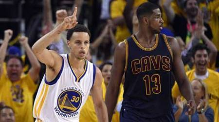 NBA Finals: Golden State Warriors overcome LeBron James' 44, win Game One inovertime