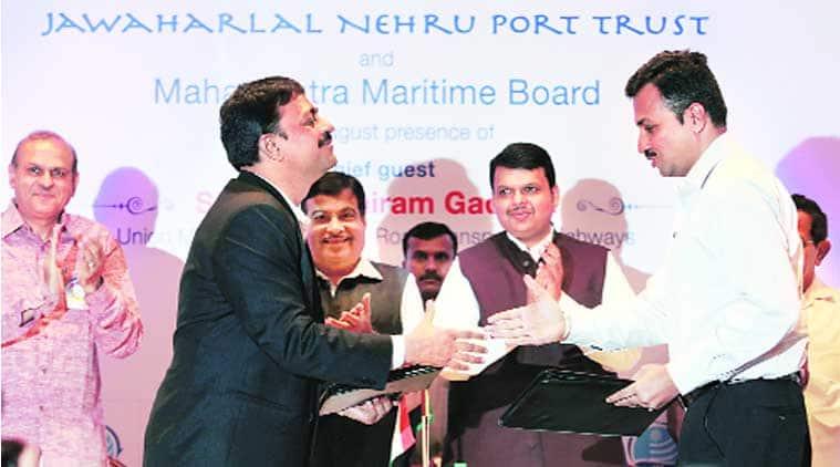 Nitin Gadkari,  Chief Minister Devendra Fadnavis, comprehensive port development plan , port project Dahanu, Dahanu port project, JNPT, Maharastra Maritime BOard, mumbai news, city news, local news, Indian Express