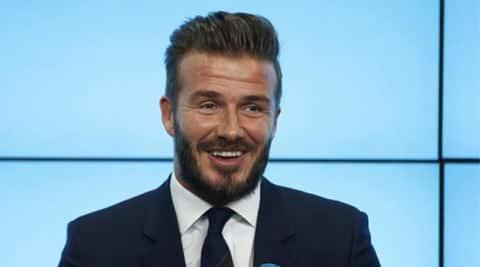 David Beckham gets a horse tattoo on his neck | The Indian ...  David Beckham