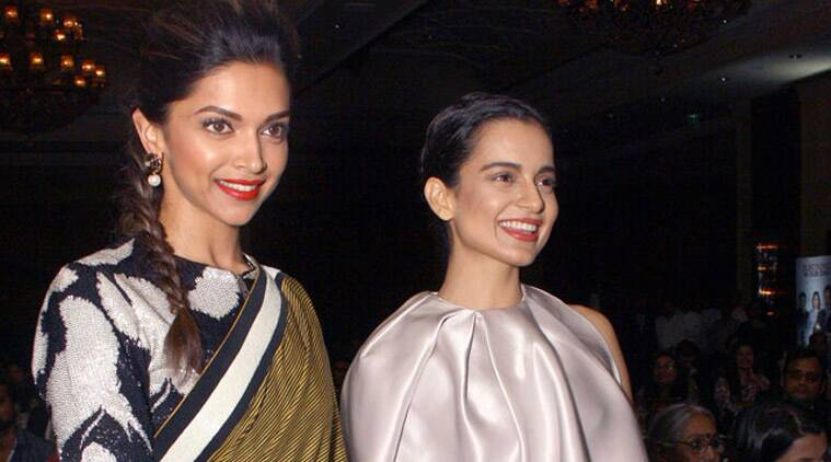 Image result for kangana with deepika padukone