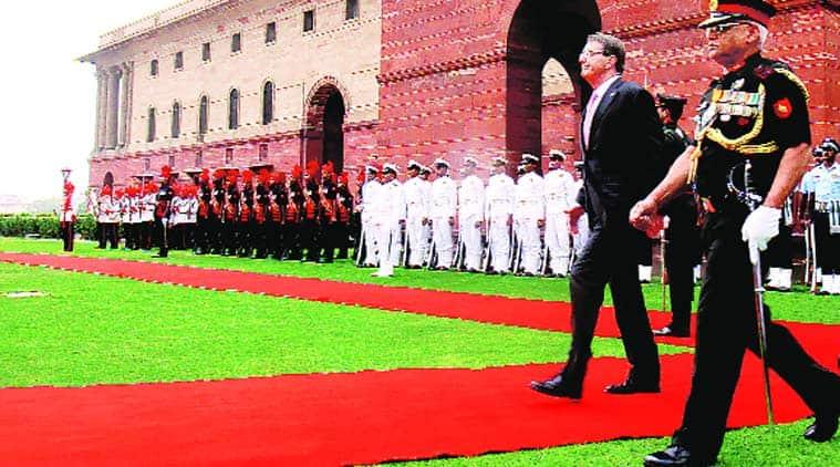 Ashton B. Carter, Manohar Parrikar, Narendra Modi government, india US defence deal, india US defence agreement, US Defence Secretary, indian express