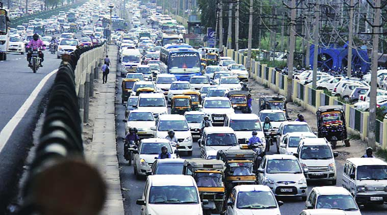 Pune's Lohegaon airport, pune airport, park and ride, pune traffic, traffic jam, pune traffic jam, pune news, city news, local news, Pune newsline, Indian Express