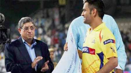 Selectors wanted to sack MS Dhoni in 2012 but Srinivasan put foot down