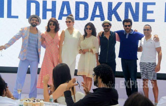 Dil Dhadakne Do, Priyanka Chopra, Ranveer Singh, Anushka Sharma