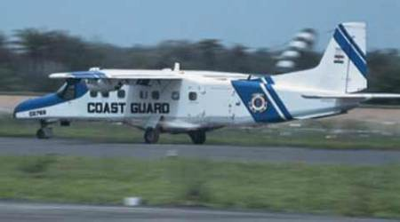 ICG Dornier: Naval ship picks up signal from missing Coast Guard aircraft