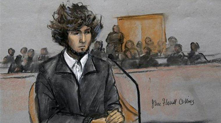 Dzhokhar Tsarnaev, Boston bomber, Boston Marathon attack, Boston Marathon blast, Boston Marathon case, Boston Marathon verdict, Dzhokhar Death sentence, Boston death sentence, Tsarnaev death sentence, Tsarnaev death penalty, Boston execution, Boston news, US news, America news, World news, International news, Indian Express