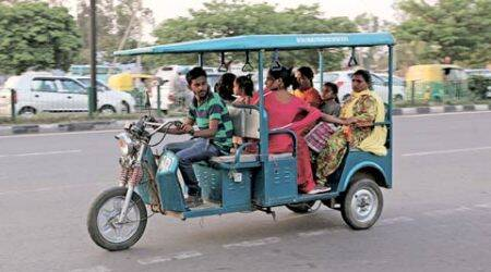 E-rickshaws may soon be legalised in Chandigarh