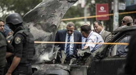 Egypt State Prosecutor, Hisham Barakat, Prosecutor general, Attorney general, Egypt Assassination, Egypt car bomb blast, Egypt bomb blast, Egypt attack, Cairo bomb blast, Cairo attack, Heliopolis attack, Cairo news, Egypt news, Middle East news, Africa news, World news, International news