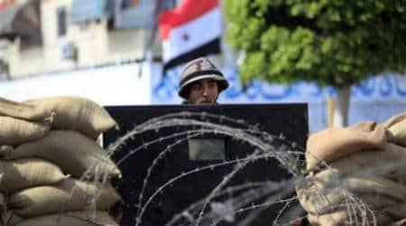 Army raids kill nearly 100 militants in Egypt's NSinai