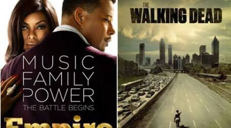 'Empire', 'The Walking Dead' top TV shows list on Twitter